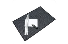 CUTTING MAT A2 45x60cm BLACK/GREEN